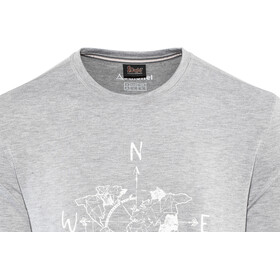 Schöffel Perth1 T-paita Miehet, silver filigree